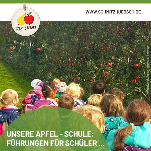 Unsere Apfel - Schule: Führungen für Schüler