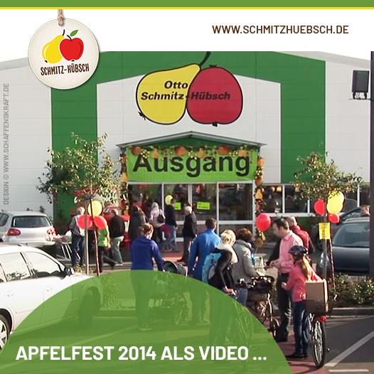 Apfelfest 2014 als Video